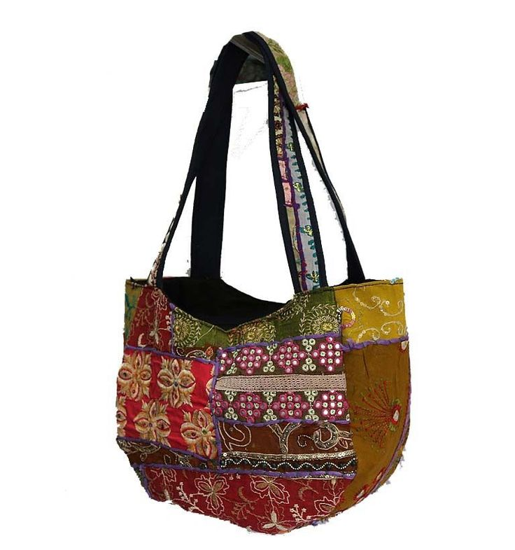 Indian Hippie Purse Traditional Handmade Patchwork Cross Shoulder Carry Bag Tote #MadeinIndiaHandmade #ShoulderBags