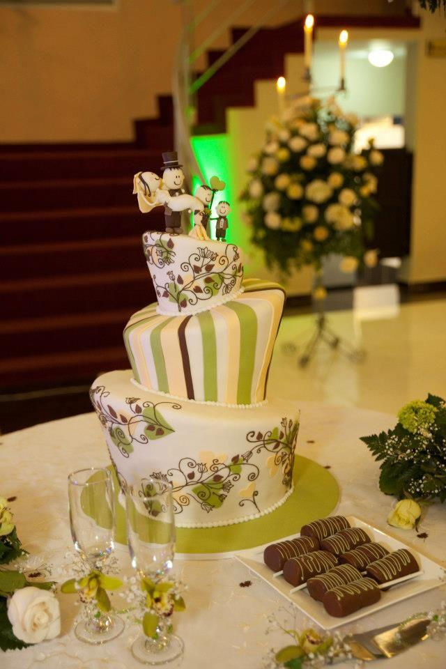 Queremos plasmar nuestra personalidad en nuestro pastel de bodas