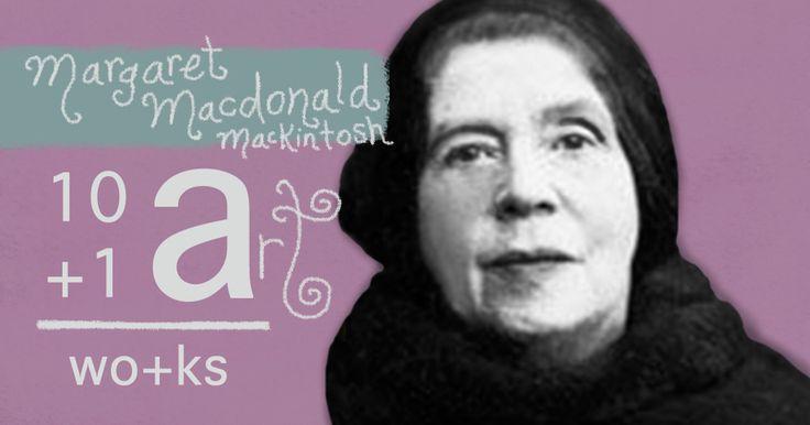 The art of Margaret Macdonald Mackintosh - 10+1 Artworks Youtube channel TRECE LUNAS Cover art by Rita Ro