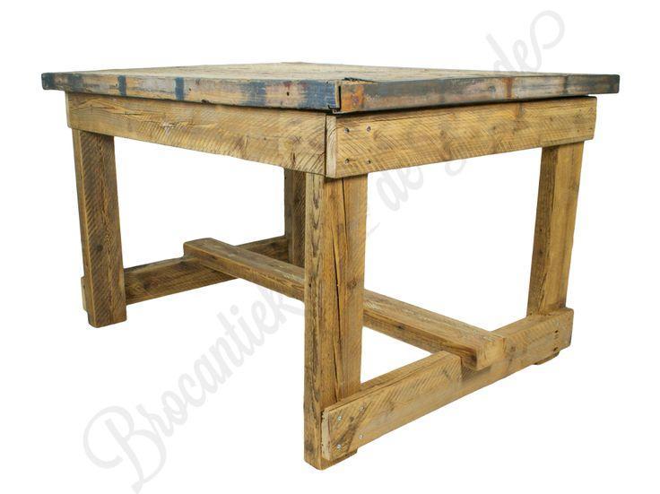 Vierpersoons steenschot tafel