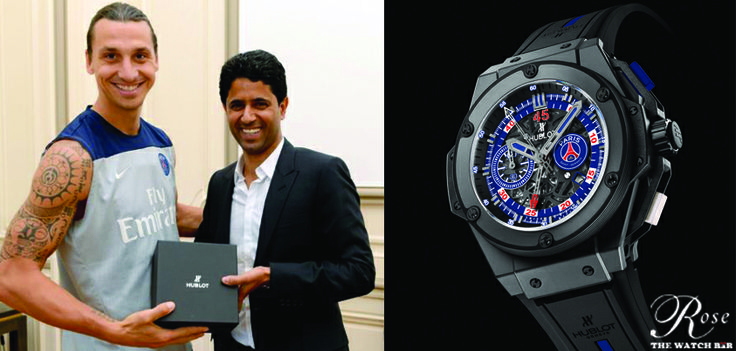 Luxury Swiss watch brand #Hublot is delighted to join hands with French Ligue 1 champions PSG - Paris Saint-Germain as their official time keeper.
