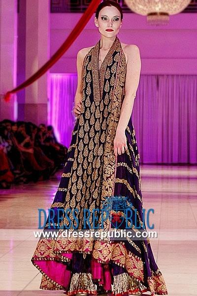 Dark Plum Berkely, Product code: DR8955, by www.dressrepublic.com - Keywords: Shalwar Kameez in Massachusetts, Indian Pakistani Dress Boutiques Massachusetts, USA