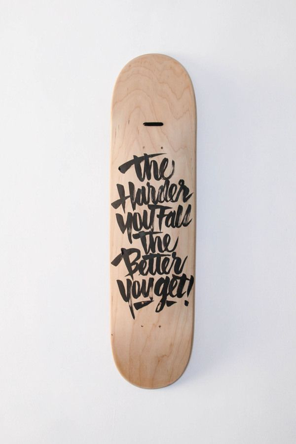 The harder you fall, the better you get. by Ricardo Gonzalez, via Behance