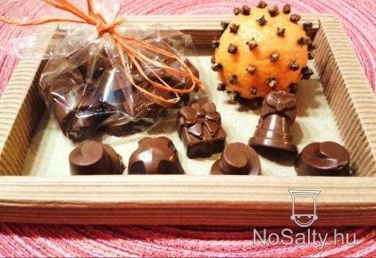 Karácsonyi fűszeres csoki bonbon