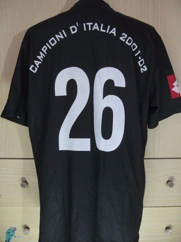 Edgar Davids Juventus Italy Calcio Lotto 2001 Player Vtg Football Shirt Jersey | eBay