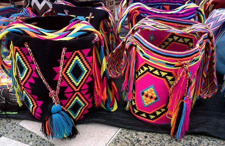 Ethnic Chic - Shop for your own Mochila Wayuu at www.acrossthepuddle.com/jewelry/handbags