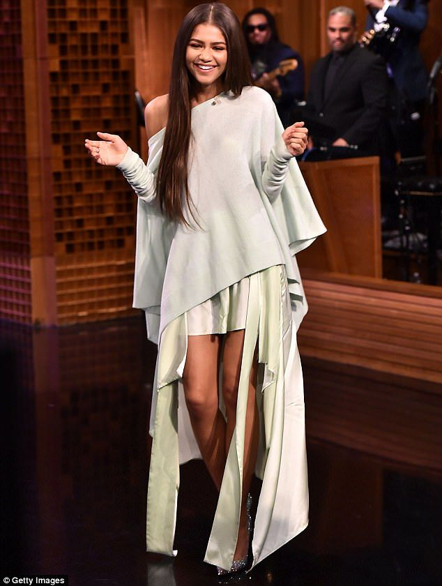 Simply pin-credible: Zendaya made quite the impression when she flaunted her stunning stal...