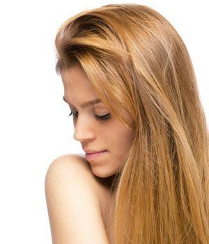 Strawberry blond hårfarve -