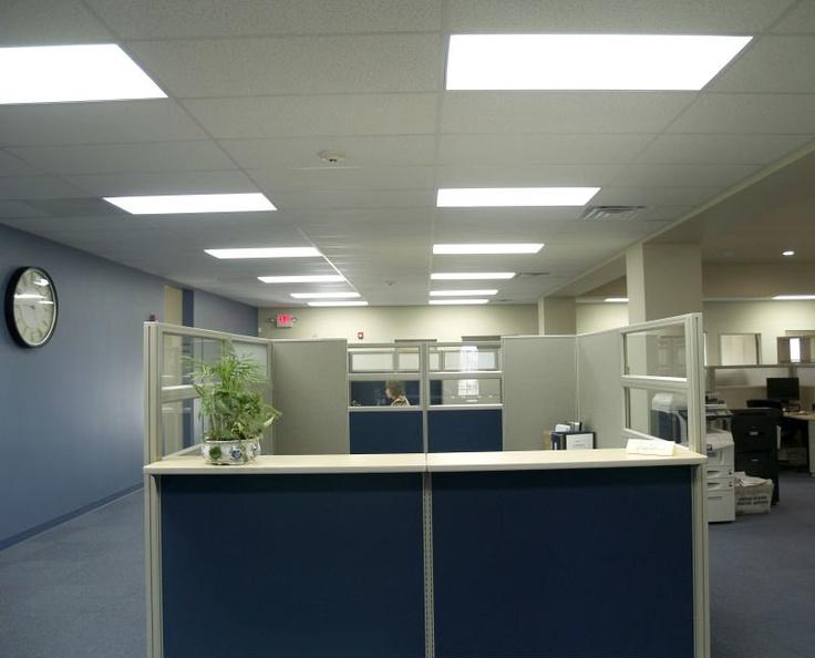 Office Panel Project Oficinas Iluminacion