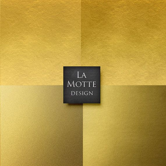 gold digital paper gold foil paper backgrounds by Lamottedesign