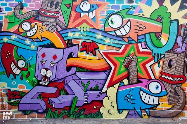 PEZ and Dibo by Hookedblog, via Flickr