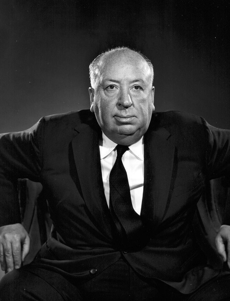 ALFRED HITCHCOCK - 1960 - Yousuf Karsh: The man who took the cigar from Churchill's mouth! only www.photogriffon.com