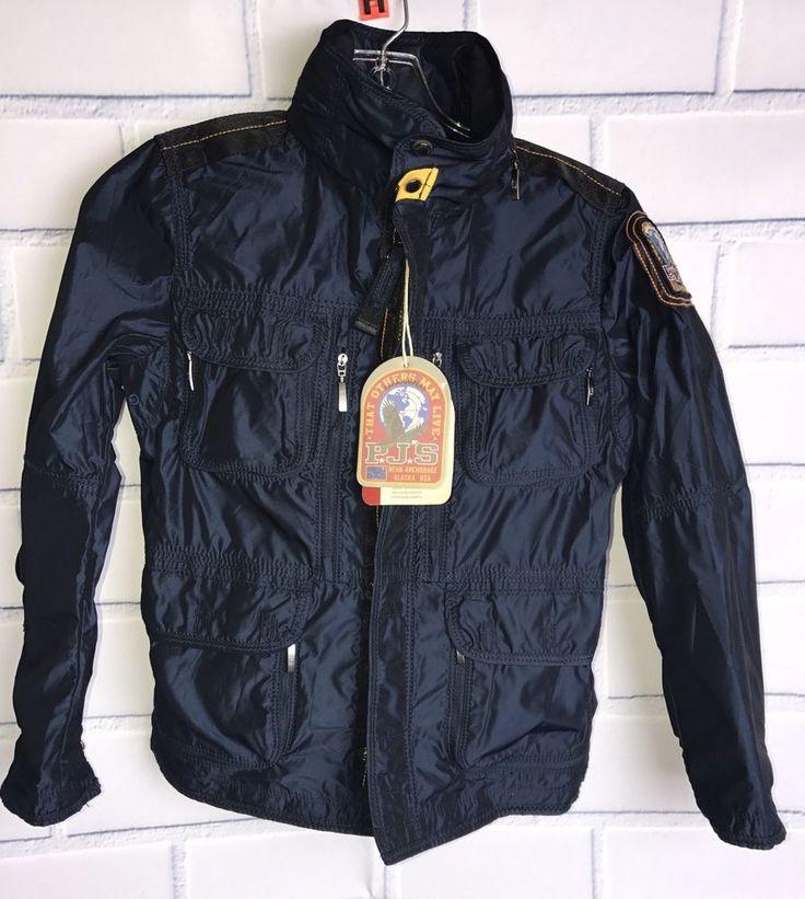 Parajumpers Jacket Boys Size 8 NWT Alaska Windbreaker  | eBay