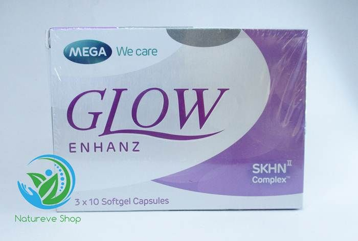 Glow enhanz suplemen pemutih kulit by mega we care
