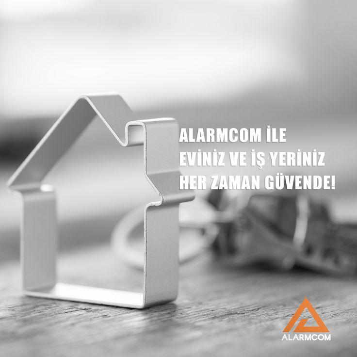 Alarmcom Akıllı Güvenlik Sistemleri sayesinde eviniz ve iş yeriniz daima güvende.
