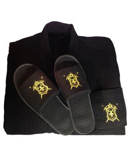 One Size Fits All Mens Spa Bath Robe, with Matching Non-slip Slippers Foot Size 10 1/2 -14 Gorgeous one size fits ALL men's Spa Robe with full length sleeves, embroidered logo lapel pocket, two waist pockets, long matching  Read more http://cosmeticcastle.net/bath-body-care/one-size-fits-all-mens-spa-bath-robe-with-matching-non-slip-slippers-foot-size-10-12-14  Visit http://cosmeticcastle.net to read cosmetic reviews
