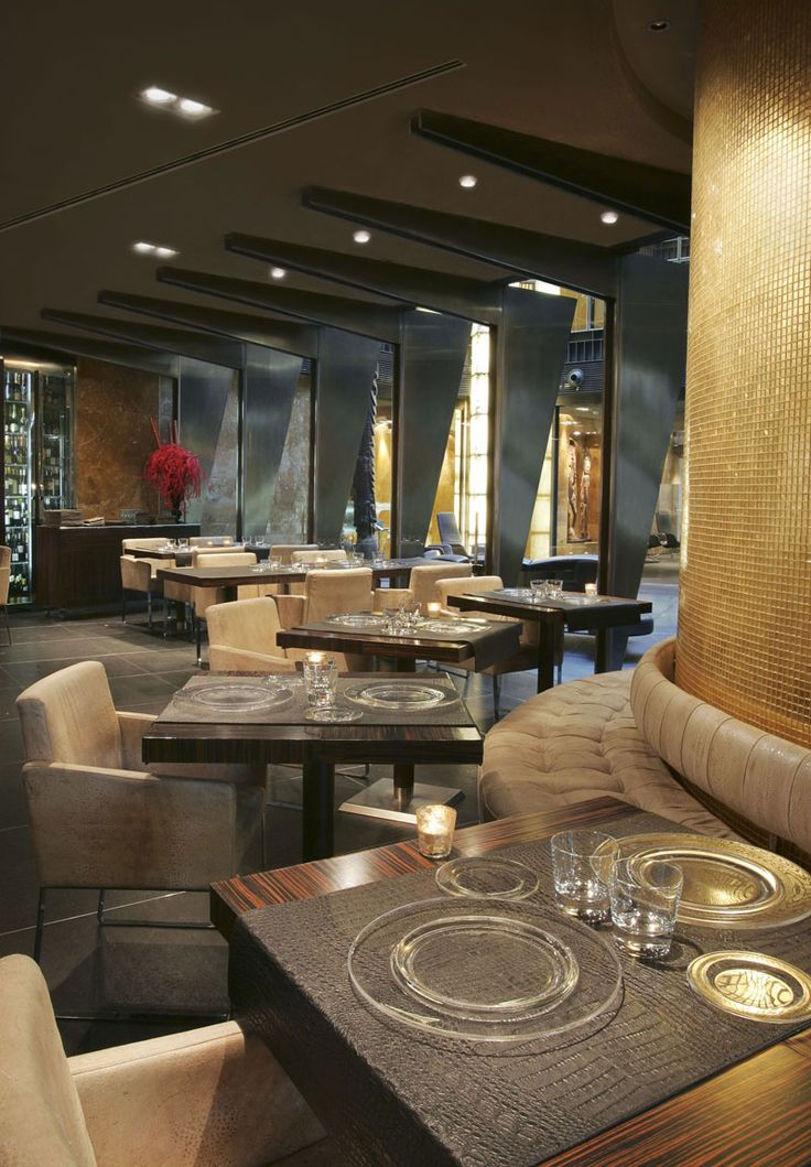 Restaurant at the Urban Hotel Madrid, Derby Hotels Collection, Madrid, Spain by Avant garde Architecture, Interior design by Triade Studio