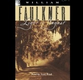 Light in August--William Faulkner.  This is one Larry had even before we were married 40 years ago.
