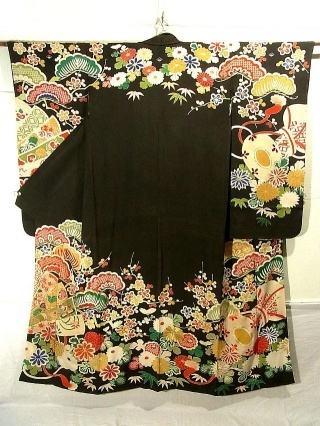 RP: Silk Kimono Vintage Furisode