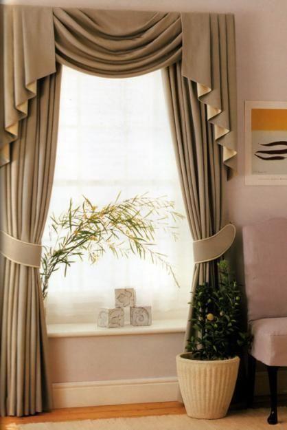 cortinas-para-decorar-tu-sala-de-estar-8 – Decoracion de interiores -interiorismo – Decoración – Decora tu casa Facil y Rapido, como un experto
