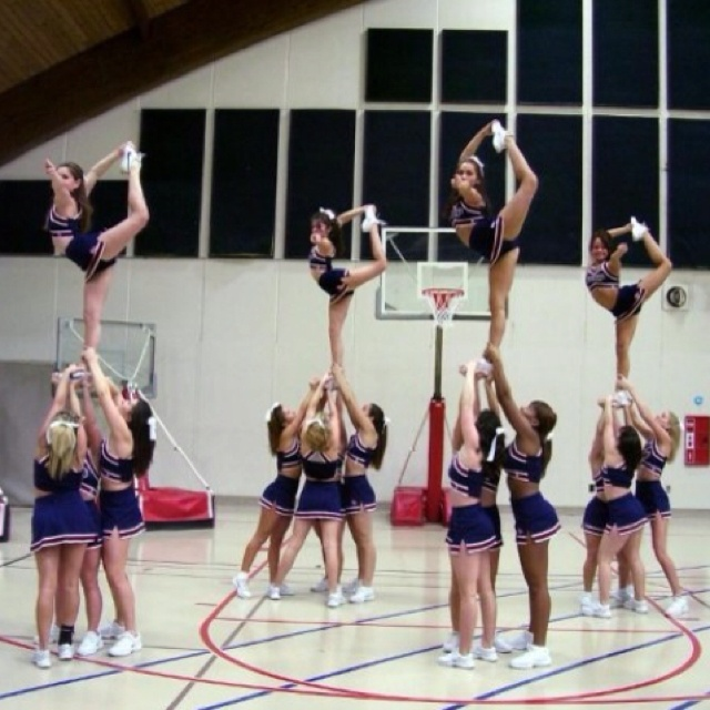 Pin by Andrea Roux on cheer Cheerleading, Cheer