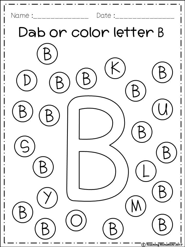 FREE Freebies Alphabet Dap A-Z 26 pages. For PreK and
