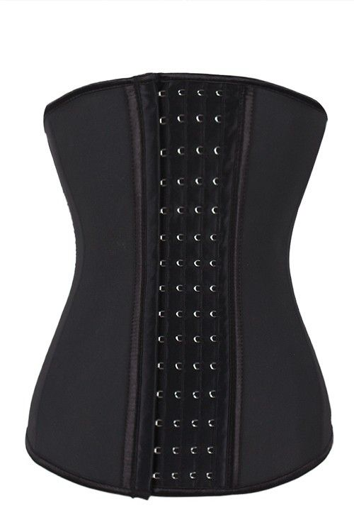 1ca9222c440 Comfortably 4 Rows Hook Latex Perfect Silhouette Waist Cincher ...