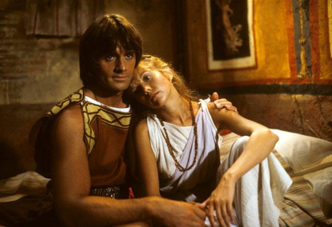 Duncan Regehr and Linda Purl Last Days of Pompeii