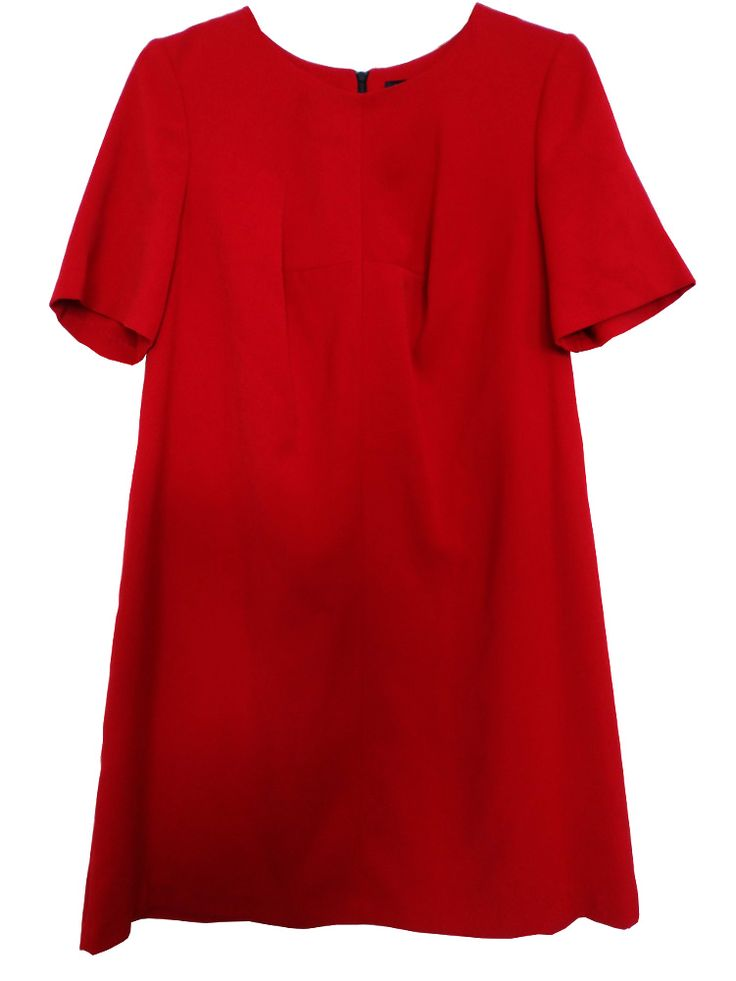 M&S COLLECTION Ladies Red Shift Dress T59/0931A. UK20 EUR48 MRRP: £49.50GBP - AVI Price: £22.00GBP