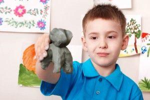Рецепты безопасного пластилина для детей