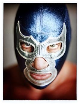Mark Mann // Lucha Series // ArtStar.com $1500