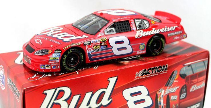 Dale Earnhardt Jr #8 Budweiser 2005 Monte Carlo NASCAR Diecast Action 1:24 #Action #Chevrolet #weboys10