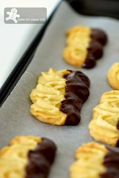 Bake for Happy Kids: Melt-in-your-mouth Viennese Biscuits