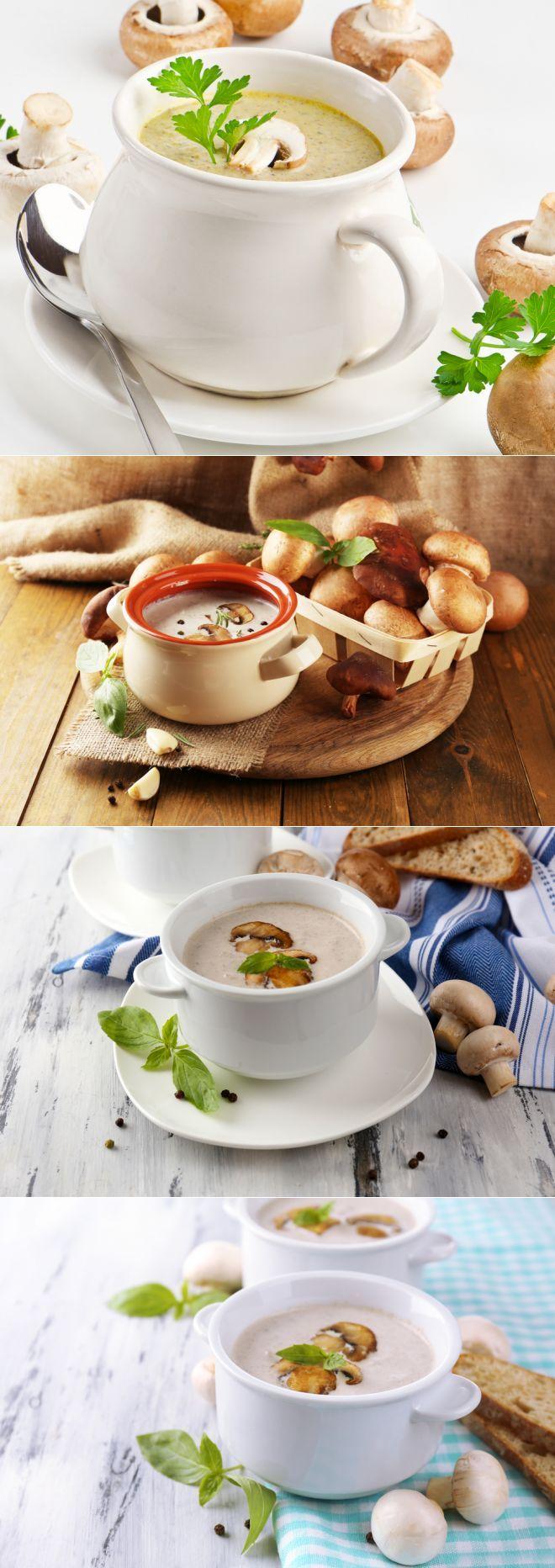 Рецепты вкуснейшего грибного крем-супа: 4 варианта блюда с шампиньонами