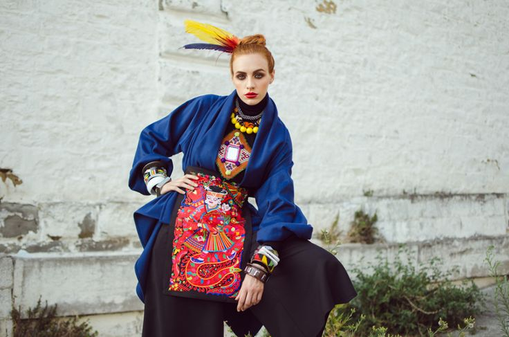 Eva Dub e la moda Urban Folk Eco-sostenibile