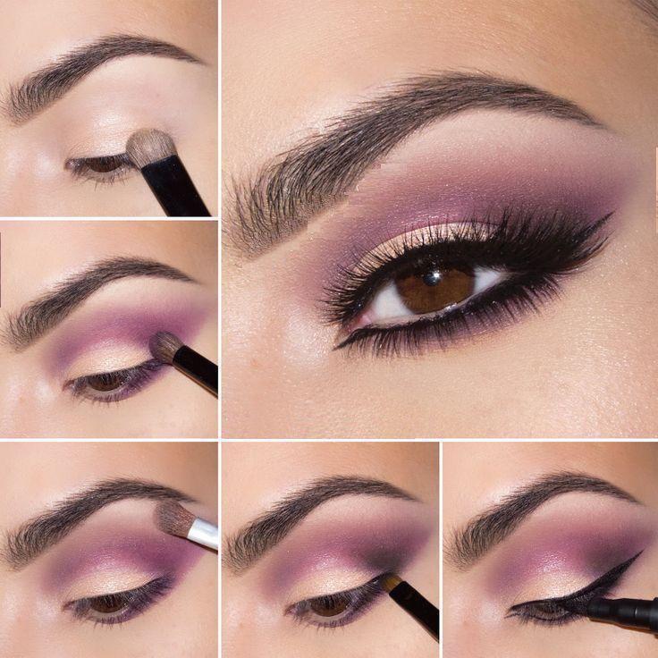 Tutorial de maquillaje de ojos para el día                                                                                                                                                                                 Más