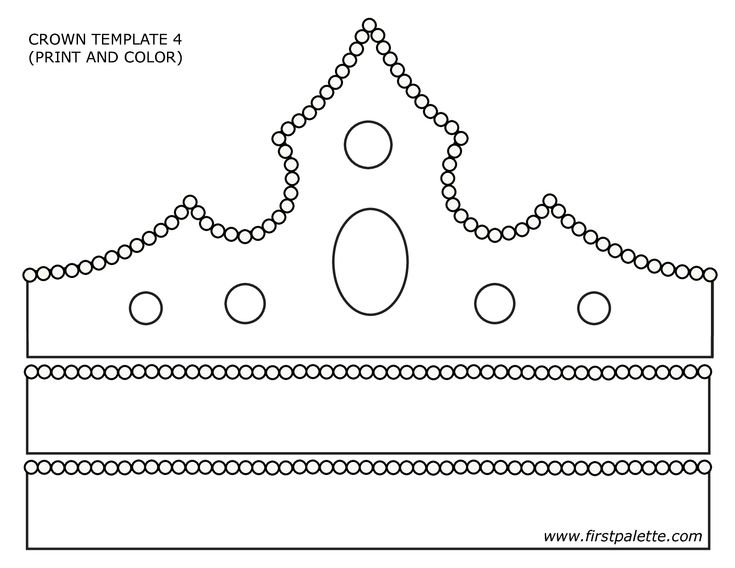 Trust image pertaining to crown pattern printable