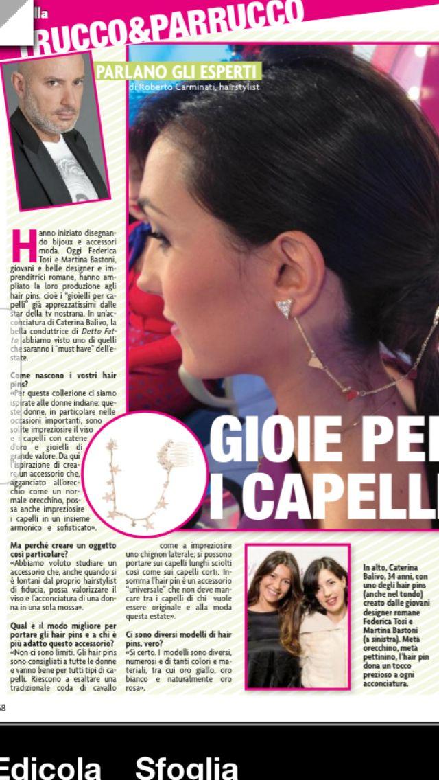 Novella 2000 thanks for interview !Roberto Carminati!