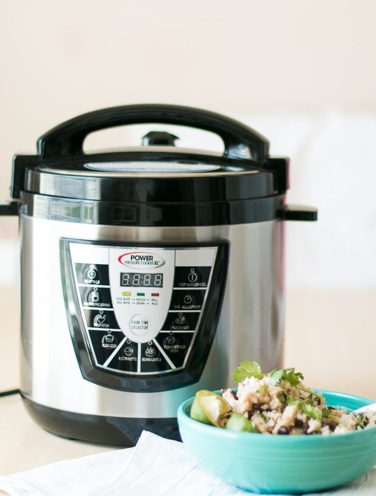 Pressure Cooker Black Beans and Rice-4