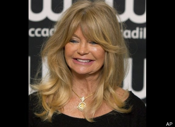 """I don't live on a sense of age. Do you know what I mean? I don't deal with those parameters. "" - Goldie Hawn"