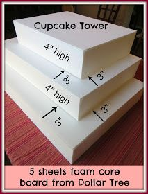 Crafty in Crosby: Make Your Own Cupcake Tower