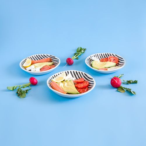 Salad Days Ceramics // Striped bowls