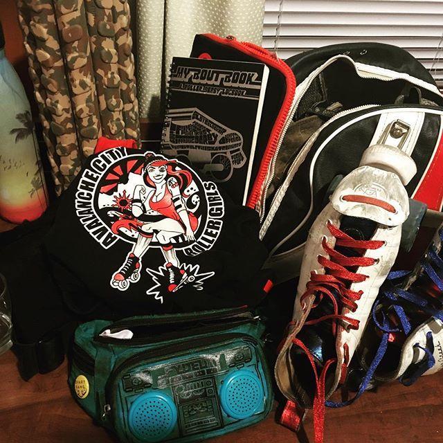 #allthethings #tournament #rollerderby #skate #funfunfun