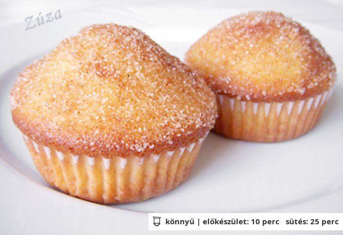 Fahéjas donut muffin | NOSALTY – receptek képekkel