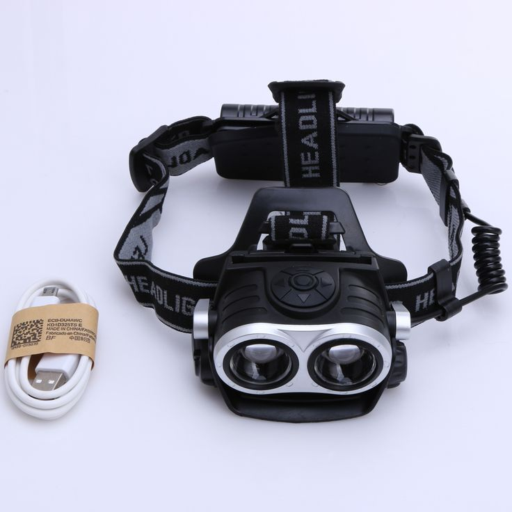 10000Lm 2x T6 LED Rechargeable Cycling Headlamp Bicycle Zoomable Headlight Torch Waterproof USB Charging Outdoor Camping