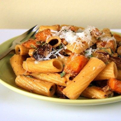 Rigatoni with Goat Cheese, Roasted Butternut Squash and ...