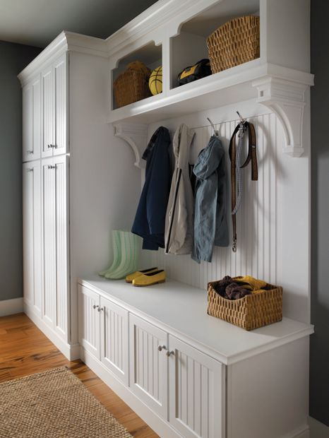 Mudroom Modular Storage : Best medallion cabinetry images on pinterest