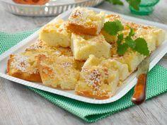 Glutenfria långpannebullar med vaniljkräm