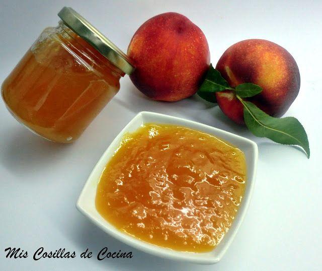 Mermelada de Nectarina - Mis Cosillas de Cocina