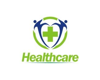 Healthcare Logo design - This is the type of business healthcare.<br /><br />I take heart symbol because it reflects concern for others. Price $99.00